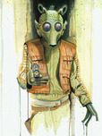 Star Wars Artwork Star Wars Artwork Greedo
